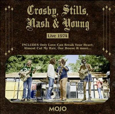 VA - MOJO Presents- Crosby, Stills, Nash & Young Live 1974 (2014)