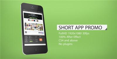 Videohive - After Effects Project - Short App Promo