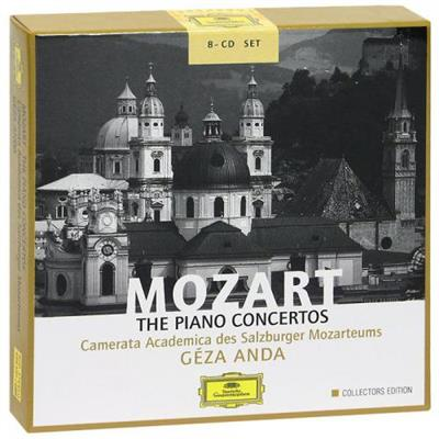 Geza Anda - Mozart. The Piano Concertos [8 CD Box Set] (2002) (MP3)