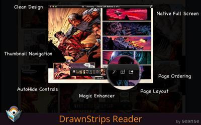 DrawnStrips Reader v2.5 Multilingual Mac OS X