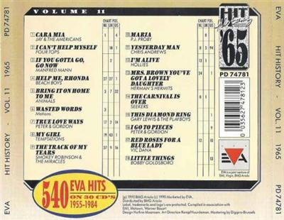 VA - Hit History '65 - Volume 11 (1990)