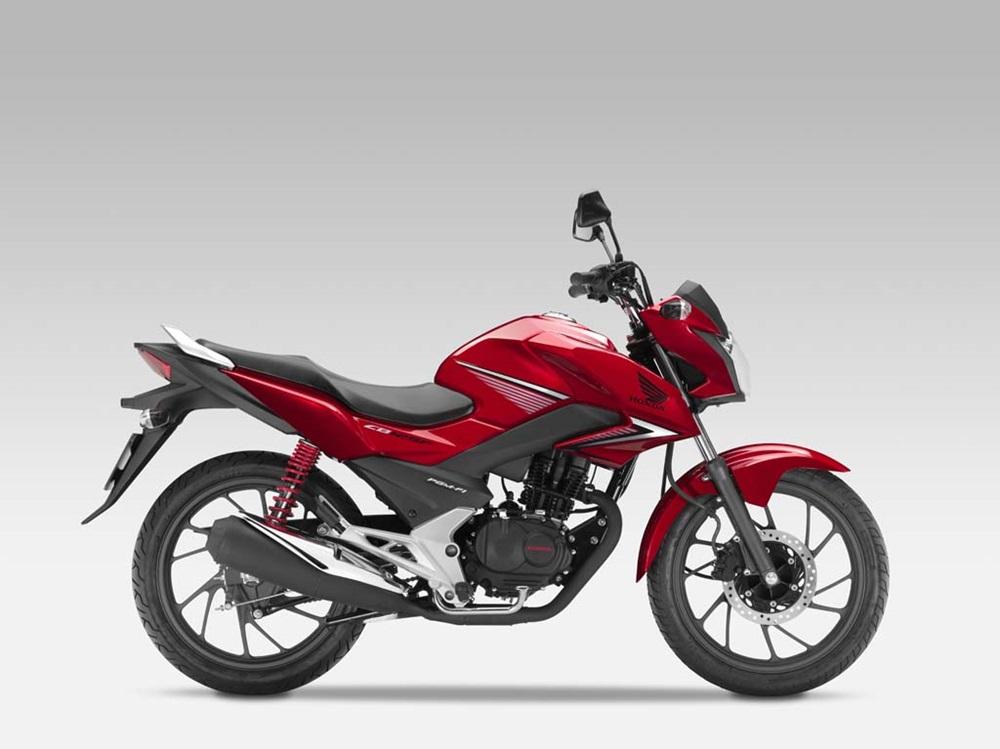 Новый мотоцикл Honda CB125F 2015