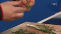 Уха из стерляди с копченой форелью (2014) IPTVRip