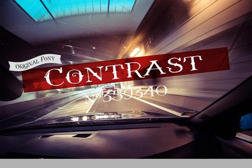Font - Contrast VTKS