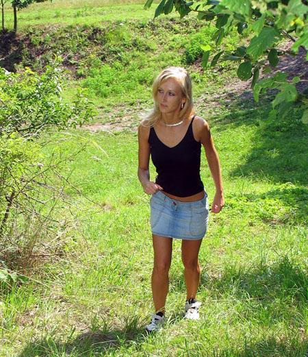Трахнул непритомную блондинку в парке