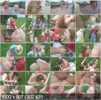 MyTeenVideo - Vally, Sheila - Horny Teens Having Wild Group Sex Outdoor [HD 720p]