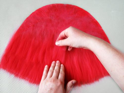 Красная шапочка своими руками мастер класс