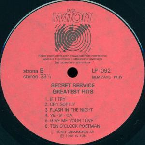 Secret Service - Greatest Hits (1986)