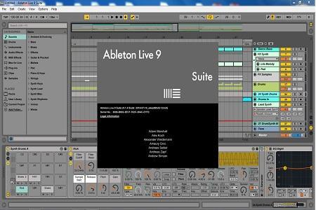 Ableton - Live ( v.9.1.4 Suite, 2014 )