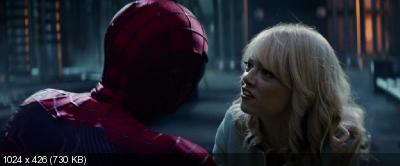 ����� �������-����: ������� ���������� / The Amazing Spider-Man 2: Rise of Electro (2014) BDRip-AVC | DUB [iTunes]