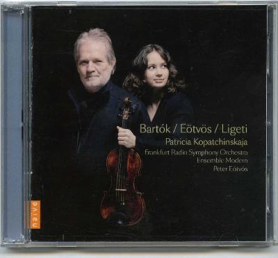 Patricia Kopatchinskaja (violin) - Bartok, Eötvös, Ligeti (Frankfurt Radio Symphony Orchestra, Ensemble Modern, Peter Eötvös) , 2CD / 2012 Naïve