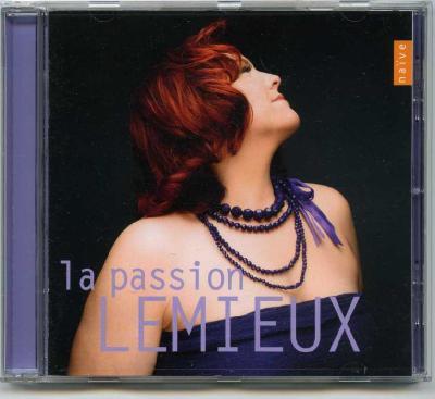 Marie-Nicole Lemieux (contralto) - La Passion Lemieux / 2013 Naïve