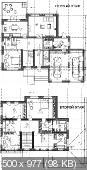 Проект, чертеж дома: Двухэтажный кирпичный дом с гаражом (Рабочий проект)