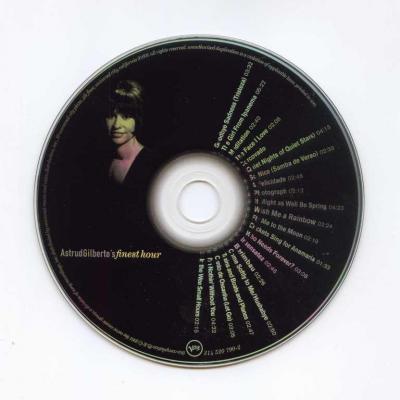 Astrud Gilberto - AstrudGilberto's finest hour / 2001 Verve