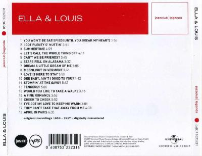Ella & Louis – Singing and swinging together / 2011 Universal Music Classics & Jazz