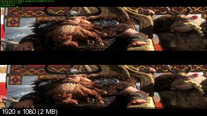 Как приручить дракона 2 3D / How to Train Your Dragon 2 3D  ( by Ash61) Вертикальная анаморфная стереопара