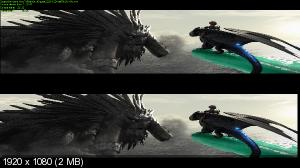 ��� ��������� ������� 2 / How to Train Your Dragon 2 (2014) BDRip 1080p | 3D-Video | halfOU