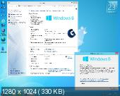Windows 8.1 with Update Pro/Ent STR by Golver 10.2014 (x86/x64/RUS)