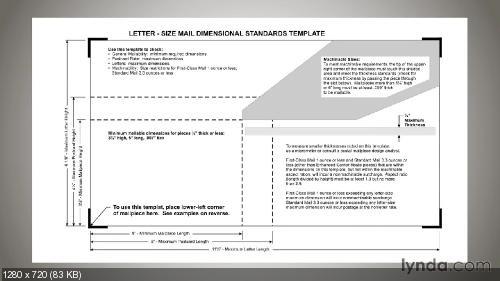 Lynda.com Производство печати Основы Direct Mail