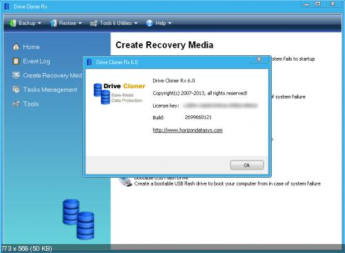 Drive Cloner Rx 6.0 Beta With Activation