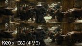 Без черных полос (На весь экран)  Хоббит: Пустошь Смауга 3д / The Hobbit: The Desolation of Smaug 3D [Extended Edition]   Вертикальная анаморфная