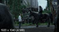 ������� �������: ��������� / Dawn of the Planet of the Apes (2014) BDRip 1080p | ��������