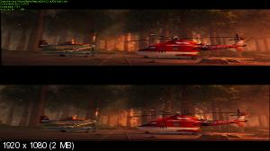 Самолеты: Огонь и вода 3Д / Planes: Fire and Rescue 3D (Лицензия by Ash61)  Вертикальная анаморфная