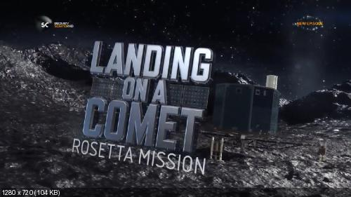 Discovery. В погоне за кометой: Розетта / Landing on a Comet: The Rosetta Mission (2014) HDTVRip [H.264/720p]