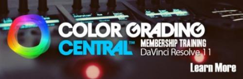 Color Grading Central - Davinci Resolve 11 Training Video