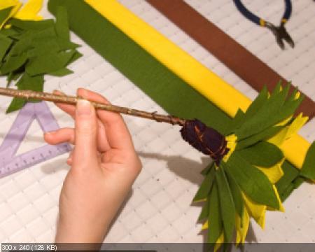 Цветы из гофрированой бумаги B2aa5010c37efeea9020818cff0ff187