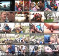 WhoresInPublic - Katerina - She Is Riding And Sucking In A Full And Rolling Carousel! [SD]
