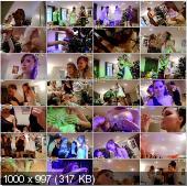 CollegeFuckParties - Melody, Megan, Mikaela, Tracy, Danaya, Keeley, Phoebe, Stephanie, Heidi, Gillian, Selena, Josie - Wild New Year College Orgy Part 1 [HD 720p]