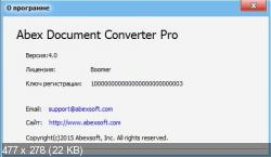 Abex Document Converter Pro 4.0 (Русификатор)