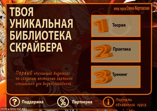 Елена Жертовская Картинки для Sparkol VideoScribe своими руками (2014)