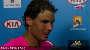 Теннис. Australian Open 2015. Гейм, сет и Матч. День 01-й [19.01] (2015) HDTV 1080i