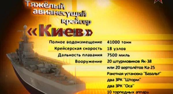Сделано в СССР. Оружие 1945-1991 годов - ТАКР Киев (2012)