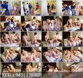 YoungSexParties - Kate, Adriana - Pizza Night Turns Into A Real Sex Party [SD]