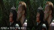 ������ 3D /  Predator 3D ( 1987 ) BDRip 720p | 3D-Video | HSBS | 60 fps