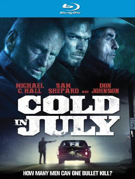 ����� � ���� / Cold in July (2014) Blu-Ray Disc (1080p)