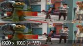 Без черных полос (На весь экран)  Город героев 3Д / Big Hero 6 3D  Вертикальная анаморфная