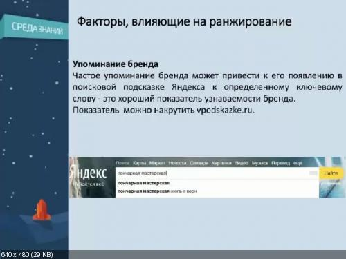 [Школа современных технологий] Среда знаний. Яндекс. Минусинск. Андрей Милаев [13.05.2015]