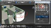 3DS MAX - Дизайн интерьера от А до Я (2015) Видеокурс