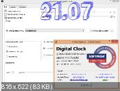 Digital Clock 4.4.1 - часы на десктоп