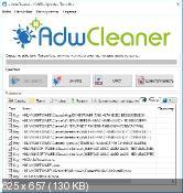 AdwCleaner 5.009 - удаление нежелательных панелей в обозревателях интернета
