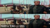 Без черных полос (На весь экран) Терминатор: Генезис 3D / Terminator Genisys 3D (Лицензия)  Вертикальная анаморфная