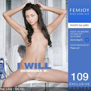 [FemJoy] 2015-10-02 Dominika W - I will, Foxy T - Your angel [223 фото / Hi-Res]
