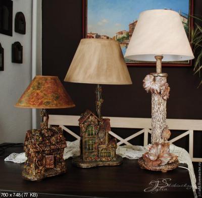 Светильники своими руками B0d73c35d0e40675b075e63abf985e85