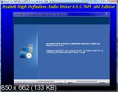 Realtek High Definition Audio Drivers 6.0.1.7649 Vista/7/8.x/10 WHQL + 5.10.0.7513 XP