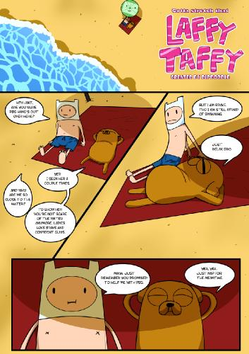 Dipdoodle - Gotta Stretch That Laffy Taffy - Adventure Time, Porn Comics Comics Galleries