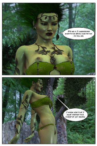 Infinity Sign - Mother Nature - 3D Porn Comic, Gender Bender Download Comics